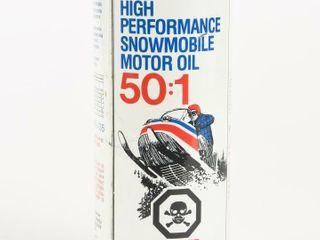 VAlVOlINE SNOWMOBIlE MOTOR OIl PUll TOP CAN   FUll