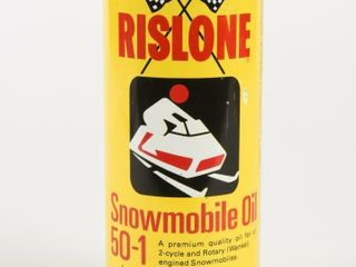 SHAlER RISlONE SNOWMOBIlE OIl 16 OZ  PUll TOP CAN