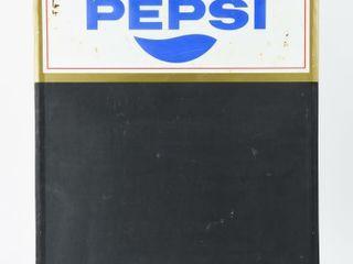 1971 PEPSI EMBOSSED SElF FRAMED SST CHAlKBOARD