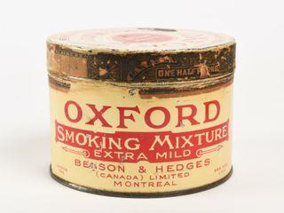 OXFORD SMOKING MIXTURE EXTRA MIlD 1 2 lB  CAN