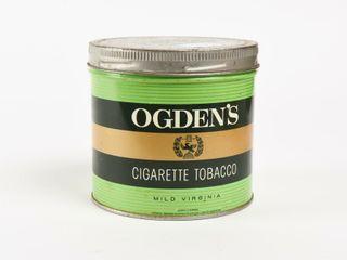 OGDEN S CIGARETTE TOBACCO 1 2 POUND CAN