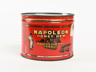 NAPOlEON HONEY DEW CHEWING TOBACCO CUT OFF CAN