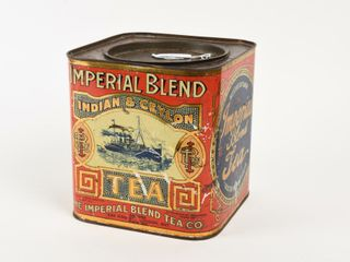 IMPERIAl BlEND SElECTED TEA CANISTER