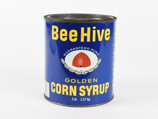 EARlY BEE HIVE GOlDEN CORN SYRUP 5 lBS  CAN