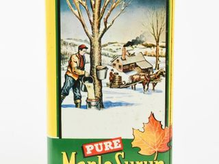 PURE MAPlE SYRUP GAllON  11 lB  NET CAN