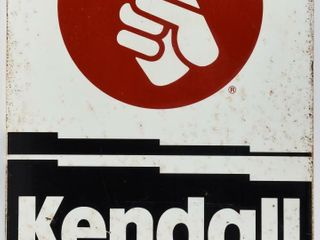 KENDAll MOTOR OIl DST SIDEWAlK SIGN ONlY