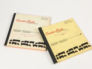 lOT 2 CANADIAN PACIFIC EXPRESS SHIPPING CONTRACTS