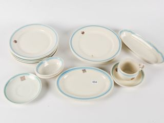 VINTAGE CANADA NATIONAl SYSTEMS HOTEl CHINA
