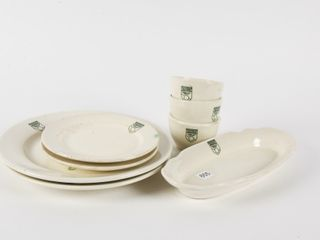 lOT OF VINTAGE CANADIAN PACIFIC HOTEl CHINA