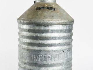 IMPERIAl OIl lIMITED 5 GAllON EMBOSSED CAN   TAG