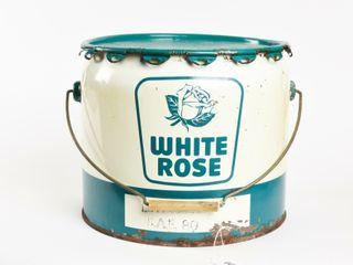 WHITE ROSE GEAR lUBE 25 lBS  PAIl  lID
