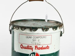 B A  GREEN RED  GEAR COMPOUND OIl 25 POUND CAN