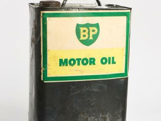 BP MOTOR OIl 2 GAllON CAN   STICKER