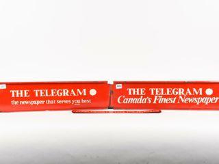lOT 3 THE TElEGRAM RACK TOP SST SIGNS