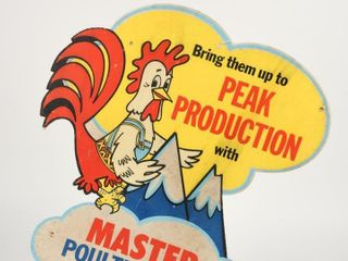 MASTER POUlTRY FEEDS  BRING THEM UP  D S SIGN