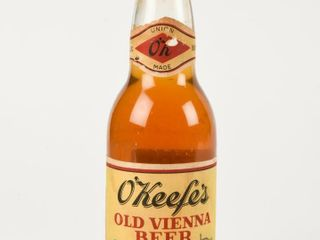 O KEEFE S OlD VIENNA BEER 12 OZS BOTTlE  FUll