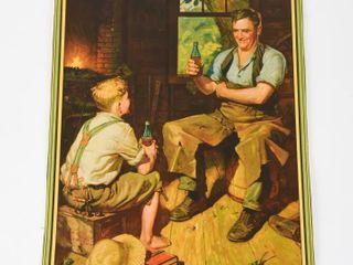1933 COCA COlA CANADA CAlENDAR TOP