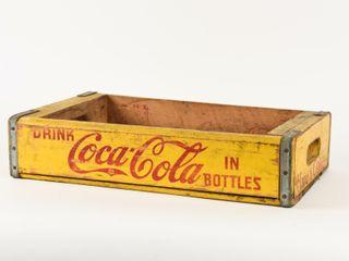 DRINK COCA COlA IN BOTTlES WOODEN CRATE