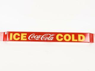 ICE COlD COCA COlA S S METAl PUSHBAR   NEW