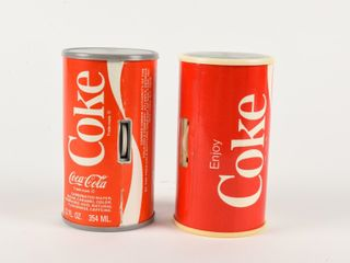 lOT OF 2 COCA COlA   COKE TRANSISTOR RADIOS