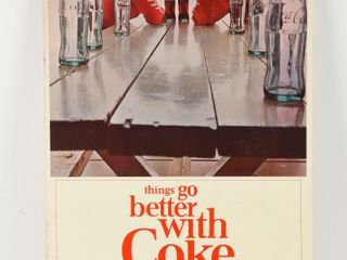 THINGS GO BETTER WITH COKE S S CARDBOARD POSTER