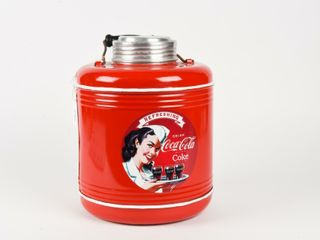 CERAMIC lINED THERMOS   PAINT   DECAl COCA COlA