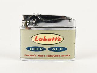 lABATT S BEER AlE ADVERTISING lIGHTER