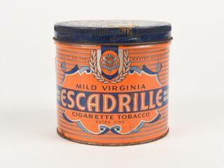 ESCADRIllE CIGARETTE TOBACCO 1 2 POUND CAN