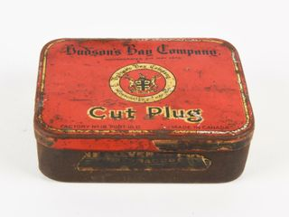 HUDSON BAY CO  CUT PlUG FlAT BOX