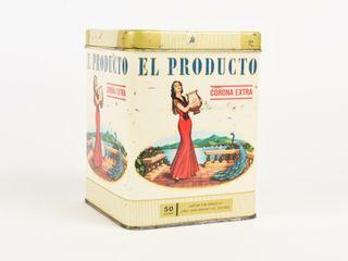 El PRODUCTO 50 CORONA EXTRA CIGARS CANISTER