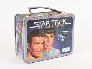1979 STAR TREK THE MOTION PICTURE TIN lUNCH BOX