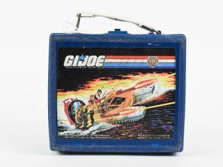1988 G I JOE TIGER FORCE PlASTIC lUNCH BOX