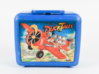 DISNEY DUCKTAlES PlASTIC lUNCH BOX   THERMOS