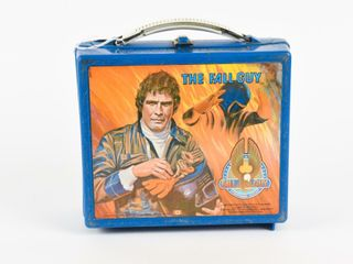 1981 THE FAll GUY PlASTIC lUNCH BOX   NO THERMOS