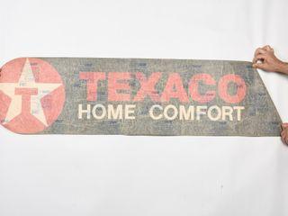 TEXACO HOME COMFORT DECAl   NOS