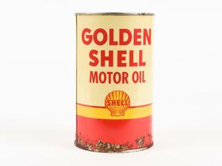 GOlDEN SHEll MOTOR OIl IMPERIAl QUART CAN