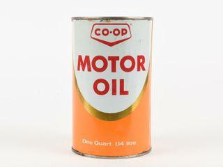 CO OP MOTOR OIl QUART CAN
