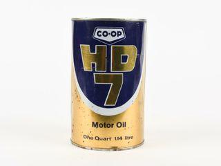 CO OP HD7 MOTOR OIl QUART CAN