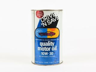 IMPERIAl OIl DRIVE  N SAVE MOTOR OIl CAN