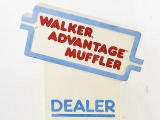 WAlKER ADVANTAGE MUFFlER DEAlER D S PlASTIC SIGN