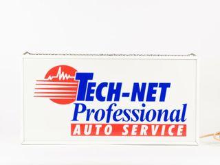 TECH NET PROFESSIONAl AUTO SERVICE lIGHT BOX