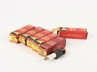 lOT 6 CHRYCO AUTOlITE SPARK PlUGS   BOX   NOS