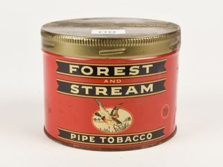 FOREST   STREAM PIPE TOBACCO HAlF POUND CAN
