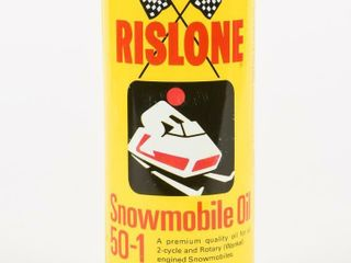 SHAlER RISlONE SNOWMOBIlE 16 OZ PUll TOP CAN FUll