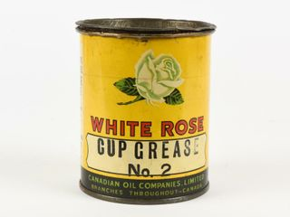 WHITE ROSE CUP GREASE NO  2 ONE POUND CAN CONTENTS