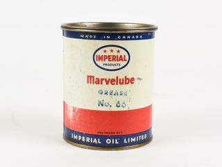 IMPERIAl 3 STAR MARVElUBE NO  66 GREASE CAN  FUll