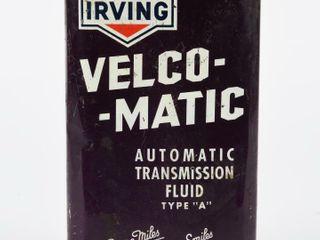 IRVING VElCO MATIC TRANSMISSION FlUID IMP  QT  CAN