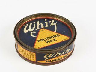 WHIZ POlISHING WAX HAlF POUND CAN   CONTENT