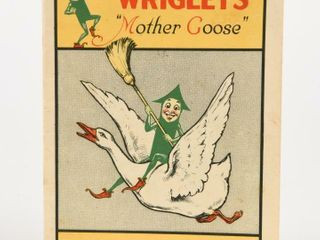 WRIGlEY S MOTHER GOOSE SPRIGHTlY SPEARMAN BOOKlET