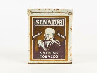 SENATOR CUT PlUG SMOKING TOBACCO TAll CAN